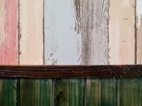 彩色木板背景素材