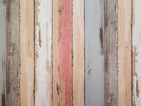 彩色木板底纹