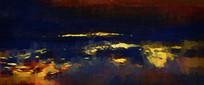 抽象艺术壁画装饰画