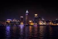上海黄浦江夜景