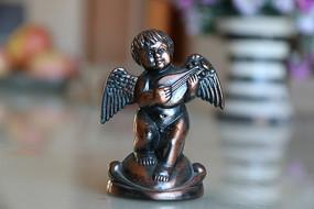 小天使雕刻
