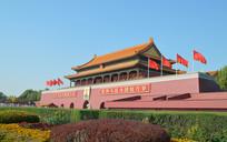 北京天安门城楼