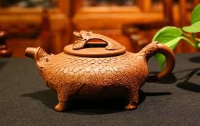 蟾蜍茶壶紫砂壶