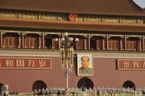 北京天安门特写