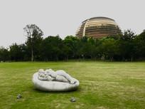 杭州音乐厅大草坪