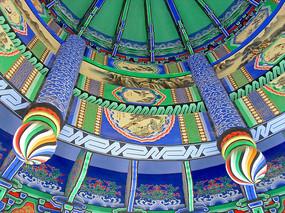 中国传统风格土木建筑彩绘