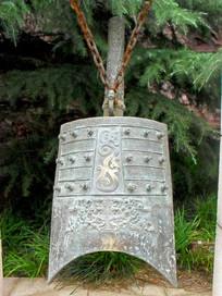 古代编钟园林景观