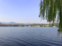 杭州西湖水景