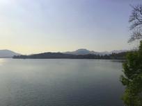 西湖湖光山色