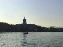 西湖雷峰塔景色
