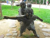 园林景观人物雕塑