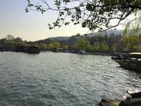 杭州西湖迷人景色