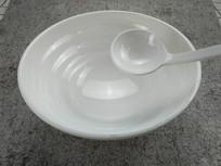 密胺白色餐具
