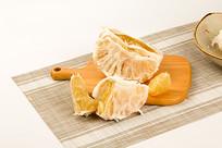 三红蜜柚子图片