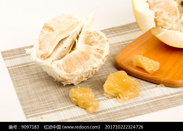 新鲜水果沙田柚摄影