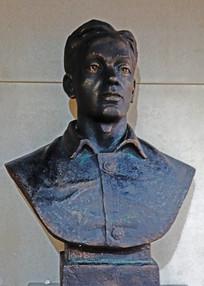 毛达烈士雕像