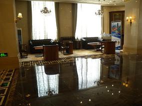 酒店大堂会客厅