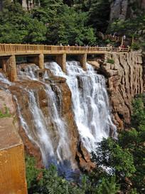 山水风景小桥流水
