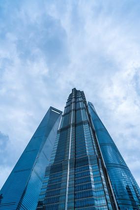 城市高楼大厦摩天大楼