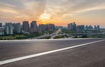 郑州城市景观和城市天际线