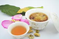 茶文化背景素材