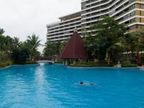 海南高档住宅小区配套游泳池