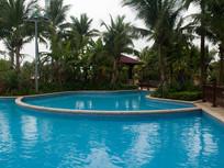 海南高档生活小区游泳池