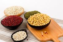 五谷杂粮静物摄影高清豆类