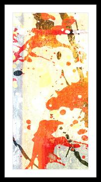 抽象油画玄关画端景画
