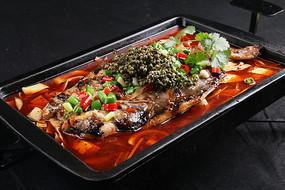 藤椒味烤鱼
