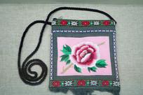 绣花精美的东干回族女性手提包