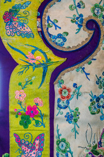 清朝旗袍古典花纹