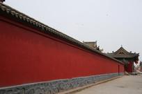 应县木塔景区围墙