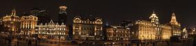 上海外滩中山南路夜景
