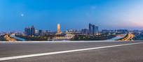 郑州CBD外环夜景