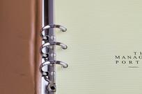 漂亮的活页笔记本