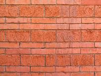 红色砖墙平面背景图案