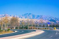 家乡美丽的山峰