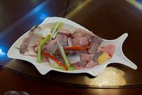 火锅菜品花鲢鱼肉