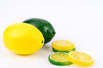 柠檬与柠檬片