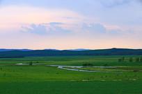 山地牧场风景