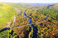 林海河流之秋