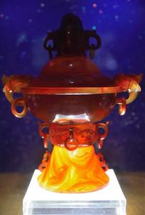 红玛瑙香炉