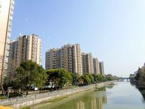房地产建筑摄影河滨城市建筑