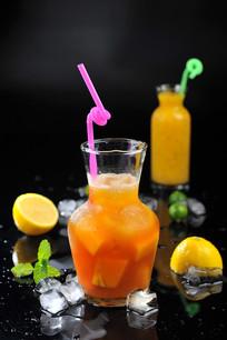 新鲜芒果果茶