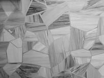黑白拼花瓷砖