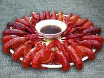 静物小龙虾宴
