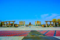 天津泰达航母主题公园广场