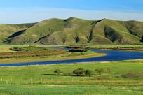 额尔古纳河流域牧场景观