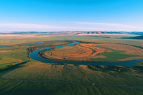 呼伦贝尔草原河流